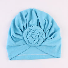 Load image into Gallery viewer, NISHINE New Mommy And Me Cotton Blend Handmade Hat Women Caps Baby Girls Turban Hats Twist Knot Headwear Hair Accessories