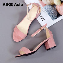 Load image into Gallery viewer, Hot Summer Women Shoes Pumps Dress Shoes High Heels Boat Shoes Wedding Shoes Tenis Feminino  With Peep Toe Sandals  Casual 997
