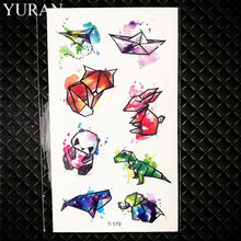 Load image into Gallery viewer, Hot Small Sexy Lips Leaf Black Cartoon Temporary Tattoo Cute Star Tattoo Sticker