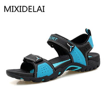 Load image into Gallery viewer, MIXIDELAI Outdoor Fashion Men Sandals Summer Men Shoes Casual Shoes Breathable Beach Sandals Sapatos Masculinos Plus Size 35-46