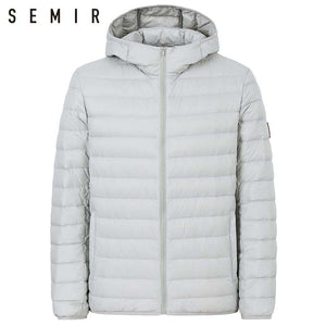 SEMIR 90% duck down jacket for man ultralight warm winter jacket