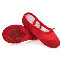 Load image into Gallery viewer, Girls Kids Pointe Shoes Dance Slippers High Quality Ballerina Practice Shoes For Ballet
