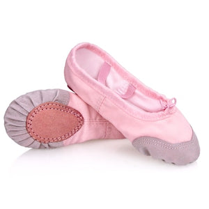 Girls Kids Pointe Shoes Dance Slippers High Quality Ballerina Practice Shoes For Ballet