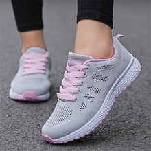 Load image into Gallery viewer, QIAOJINGREN Woman casual shoes Breathable 2018 Sneakers Women New Arrivals Fashion mesh sneakers shoes women size 35-44