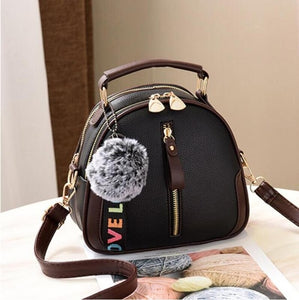 Pearl Hair Ball, Women's Mini Bag, Fashion Chain, Shoulder