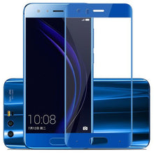 Load image into Gallery viewer, Full Cover Color Tempered Glass For Huawei honor 9 honor 9 Lite Honor9 9Lite Screen Protector Film Black White Blue Gray