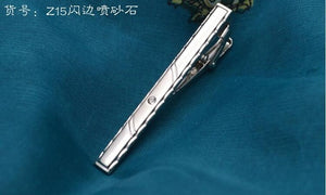 New Metal Silver Tie Clip For Men Wedding Necktie Tie Clasp Clip Gentleman Tie Bar