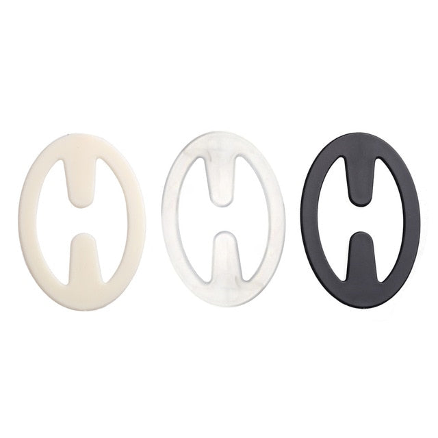 3Pcs/set Hot Sale Fashion Webbing Bra Buckles Shadow-Shaped Underwear