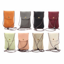 Load image into Gallery viewer, Universal Leather Cell Phone Bag Shoulder Pocket Wallet Pouch Case Neck Strap