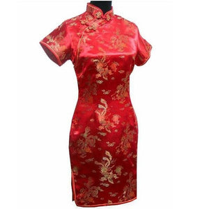 Elegant Slim Plus Size Qipao 2019 New Chinese Female Rayon Dress Mandarin Collar Vintage Cheongsam Vestidos S-3XL 4XL 5XL 6XL