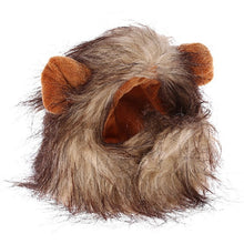Load image into Gallery viewer, Pet Cat Costume Lion Mane Wig Cap Hat for Cat Dog Halloween Christmas Clothes