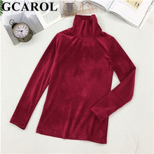Load image into Gallery viewer, Fall Winter Women Turtleneck Sweater Stretch High Quality Smooth Thick Pullover Basic Warm OL Tops