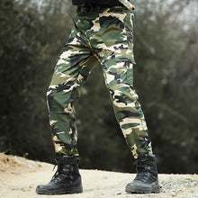Load image into Gallery viewer, Military Pants Tactical Army Style SWAT Camo Pants Men Work Casual Paintball Combat Overalls Camouflage Cargo Trousers 3 Colors