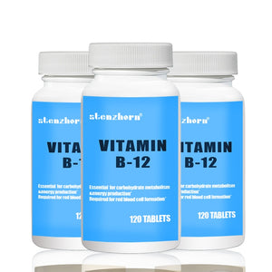 vitamin B12 1000mcg 120 units X 3B Altogether 360 units  Multifunctional supplement  Quality assurance