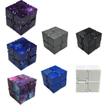Load image into Gallery viewer, Infinity Cube Mini Fidget Toy Finger EDC Anxiety Stress Relief Magic Cube Blocks