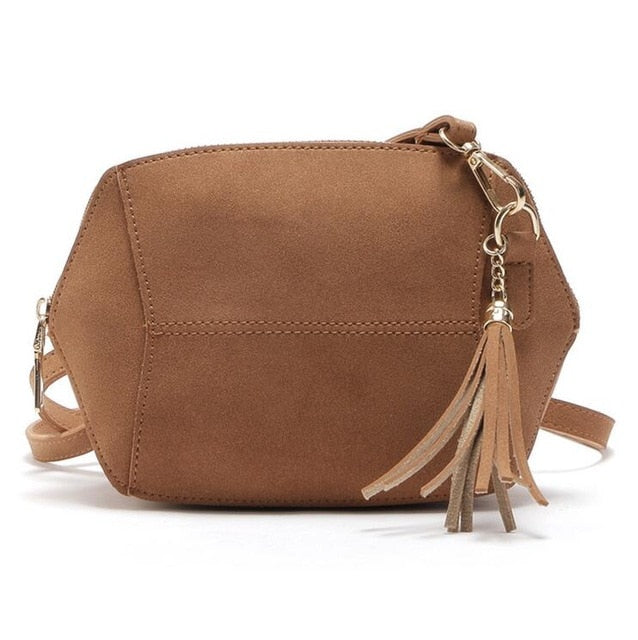 Nubuck Crossbody Bags For Women PU leather Flap
