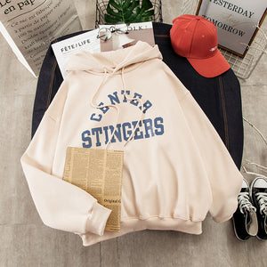 Women Large Size Leisure Long Sleeve Hooded Pullover Soft Cotton Korean Style Ladies Sweatshirts
