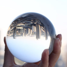 Load image into Gallery viewer, Artificial Glass Magic Ball Crystal Craft Fengshui Ball Home Ornaments Travel/Photography/Take Photos Decorative Balls Gift