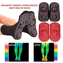 Load image into Gallery viewer, New Magnetic Socks Therapy Comfortable Self-Heating Health Care Socks Tourmaline Breathable Massager Winter Warm Foot Care Socks