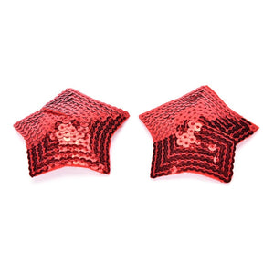 1 Pair Women Sexy Sequin Nipple Covers With Tassels Heart Shape Nipple Stickers Pasties  Sex Product Chest Stickers Wholesale
