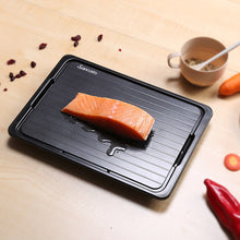 Load image into Gallery viewer, Convenient Fast Defrosting Tray with Cleaner Frozen Meat Defrost Food Thawing Plate