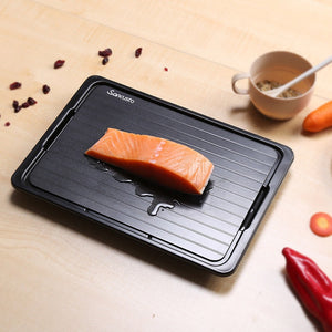 Convenient Fast Defrosting Tray with Cleaner Frozen Meat Defrost Food Thawing Plate