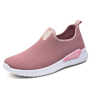 Women Sneakers Fashion Sock Shoes Vulcanized Shoes Casual Slip On Flats Trainers Tenis 2019