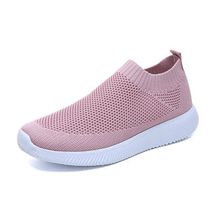 2019 Women Sneakers Fashion Socks Shoes Casual White Sneakers Summer knitted Vulcanized Shoes Women Trainers Tenis Feminino 2019