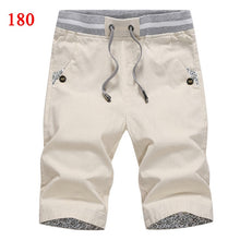Load image into Gallery viewer, 2020 summer solid casual shorts men cargo shorts plus size 4XL  beach shorts M-4XL AYG36