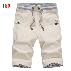2020 summer solid casual shorts men cargo shorts plus size 4XL  beach shorts M-4XL AYG36