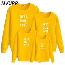 Load image into Gallery viewer, Fall family matching clothes Long sleeve sweatshirt