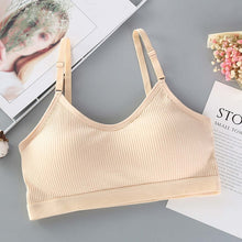 Load image into Gallery viewer, Seamless Brassiere Bras For Women Full Cup Breathable Bralette Wire Free Sleep Bra Tube Top