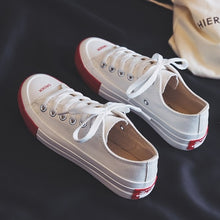 Load image into Gallery viewer, Canvas Fashion Shoes Woman 2019 Spring New Fashion Candy Color Women Casual Shoes Flats Canvas Women Casual Solid Shoes Sneakers