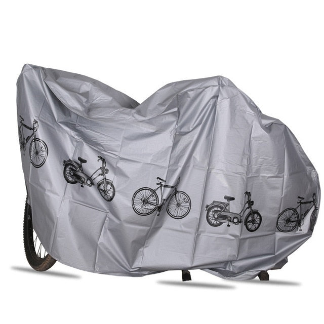 2 Colors Bicycle Cover Waterproof Outdoor UV Protector MTB Bike Case Rain Dustproof Cover For Motorcycle Scooter