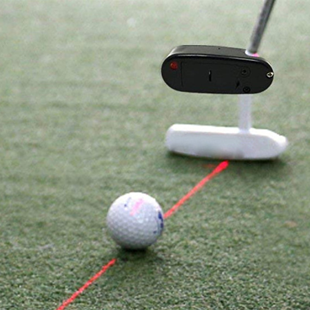 New Golf Putter Laser Pointer Putting Training Aim Line Corrector Improve Aid
