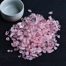 Load image into Gallery viewer, 50g natural rose quartz white crystal mini rock mineral specimen