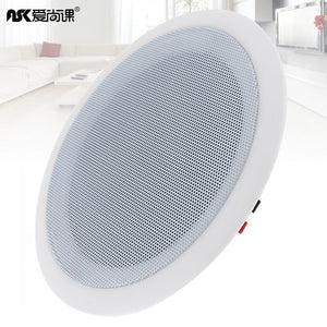 Wall-mounted Ceiling Speaker background Music System 3D stereo sound Hifi