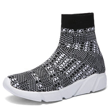 Load image into Gallery viewer, Women vulcanized  Sneakers Sock High Top Trainers Breathable