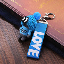 Load image into Gallery viewer, Vicney New Arrival Cute Teddy Bear Key Chain'THIS IS NOT A KOSCHINO TOY'