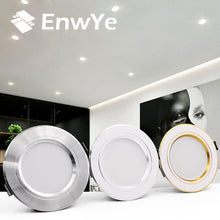 Load image into Gallery viewer, EnwYe LED Downlight Ceiling Warm white/Cold white 5W 9W 12W 15W 18W led Ceiling lamp AC 220V 230V 240V New type Downlight