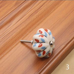 Furniture Hardware 40mm Furniture Handle Ceramic Drawer Cabinet Knobs and Handles Knobs Door Cupboard Kitchen Pull Handles