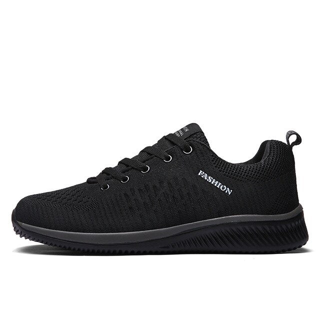 38-47 Vulcanize Shoes Men Mesh Casual Shoes Lac-up Men Sneakers Ultralight Breathable Running Sneakers Tenis Feminino Zapatos