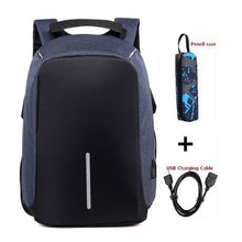 Load image into Gallery viewer, Brand backpack Anti-theft Backpack Bag 15.6 Inch Laptop Notebook Mochila Male Waterproof Back Pack Backbag School Backpack