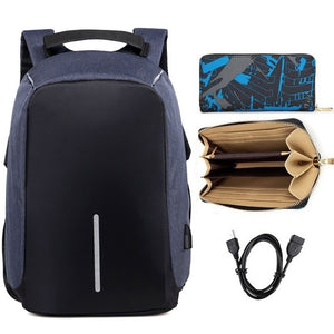 Brand backpack Anti-theft Backpack Bag 15.6 Inch Laptop Notebook Mochila Male Waterproof Back Pack Backbag School Backpack