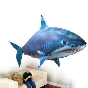Remote Control Shark Toys Air Swimming Fish RC Animal Toy Infrared RC Flying Air Balloons Clown Fish