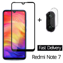 Load image into Gallery viewer, 2-in-1 Camera Glass Redmi Note 7 Tempered Glass Screen Protector Xiaomi Redmi Note 7 Glass Film redmi note 7 screen protector