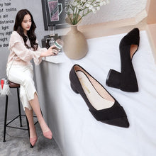 Load image into Gallery viewer, 2019 new summer pointed sexy high heel sandals women's brand designer fashion ladies thick with high heel sandals a3
