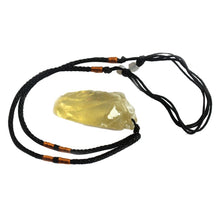 Load image into Gallery viewer, Ecological Yellow Crystal Raw Natural Citrine Stones Pandent Yellow Quartz Rough