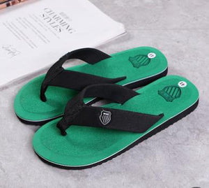 Sandwich Toe Slippers summer Men Small Shell With The Same Slipper Slip Home Leisure Beach Flip Flops Trend Factory Direct