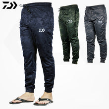 Load image into Gallery viewer, DAIWA DAWA Men Outdoor Sports Pants Camouflage Fishing Pants Anti-static Anti-UV Quick Drying Windproof Breathable Pants